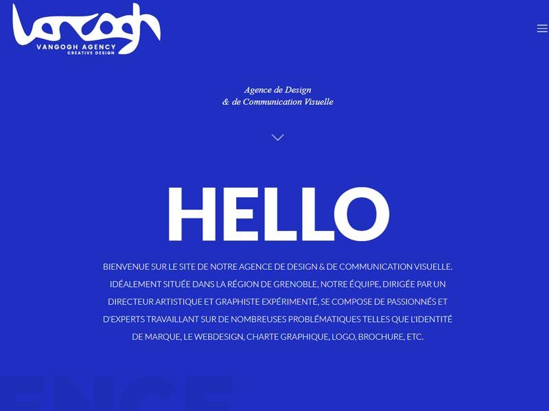 Votre graphiste Grenoble – Van Gogh Agency