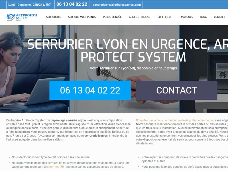 Serrurier Lyon – Art' Protect System