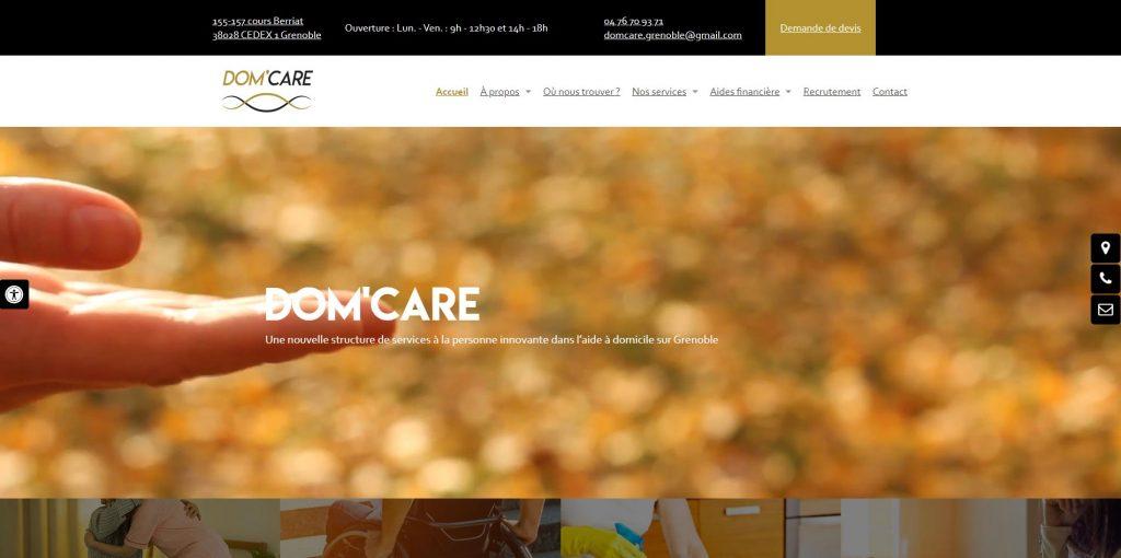 DOM'CARE, aide à domicile à Grenoble